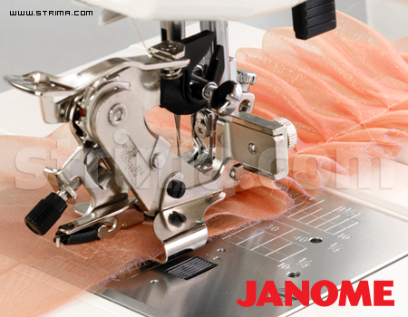 943100000 JANOME - Ruffler (for machines with shuttle hook and horizontal rotary hook)