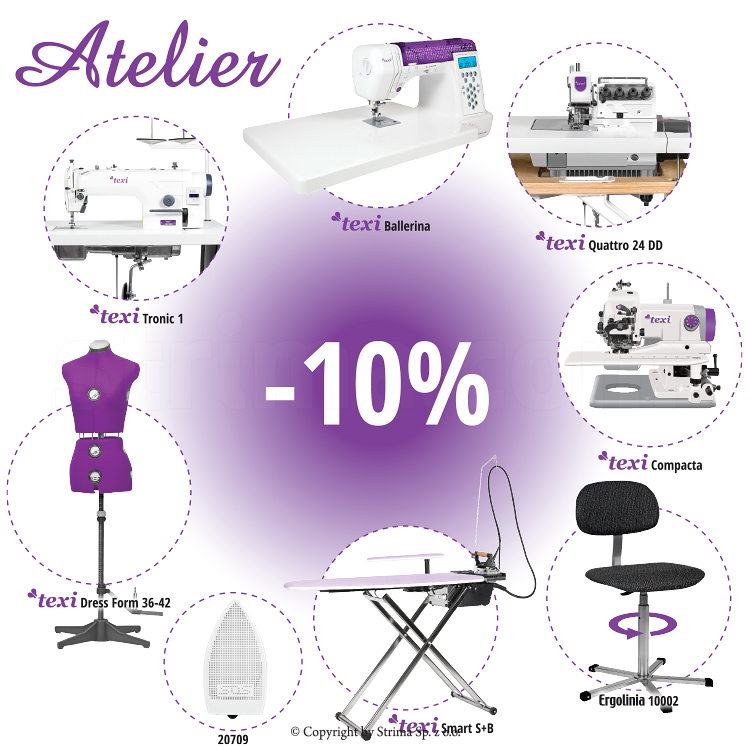 Complete sewing atelier