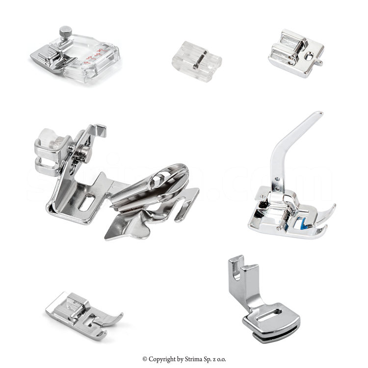MATIC set of 7 presser feet for household machine