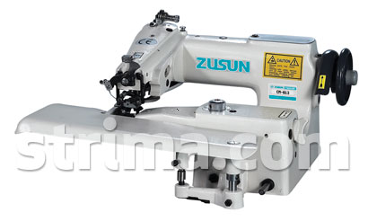 Zusun CM-813 SERVO SET - Blind stitch machine for fine materials, with energy-saving AC Servo TP550 motor - complete sewing machine