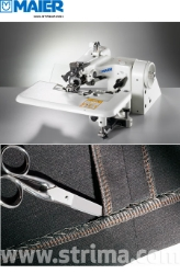 MAIER stitch machine with energy-saving AC Servo TP550 motor - complete sewing machine