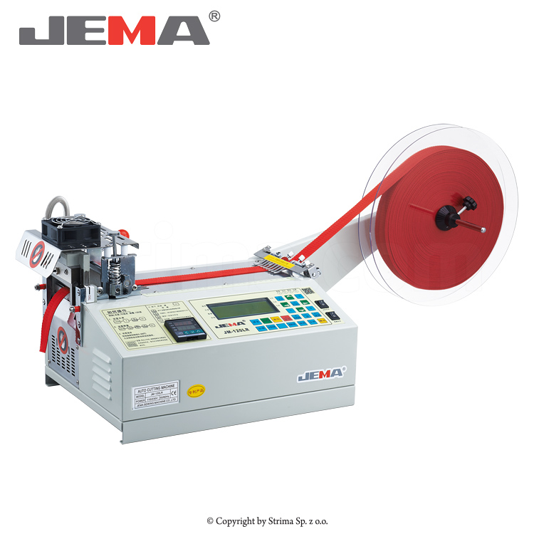 JM-120LR - Automatic tape cutting machine, hot knife and cold knife
