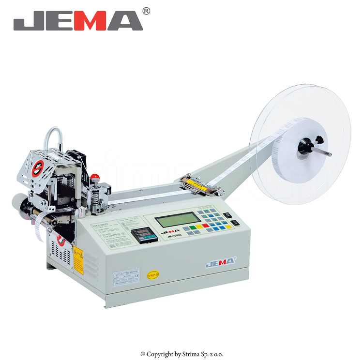 JM-120HX - Automatic tape cutting machine, straight or slant cut