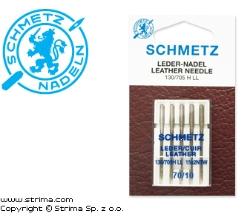 SCHMETZ leather needles 130/705H LL, 5pcs. 5x70