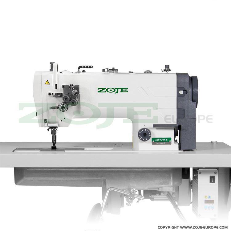 ZOJE ZJ8720A-5 - 2- needle lockstitch machine for medium and heavy materials, large hooks - machine head