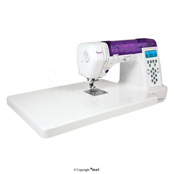 Computerized sewing machine, 200 stitch programs