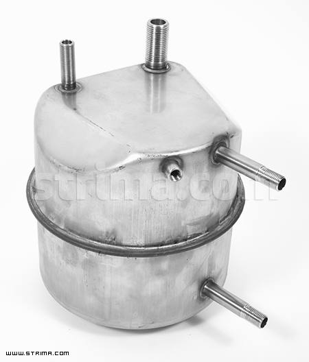 4,5 lt. (3,4lt net) stainless steel boiler for Barbara 27/31