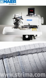 MAIER blind stitch machine with energy-saving AC Servo TP550 motor - complete sewing machine - 252 SERVO SET