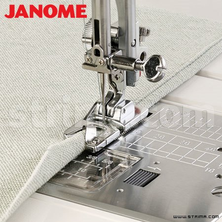 202080006 JANOME - Hemming foot for 6 mm (for machines with 9 mm stitch width)