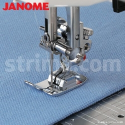 Straight stitch foot (for machines with 9 mm stitch width)