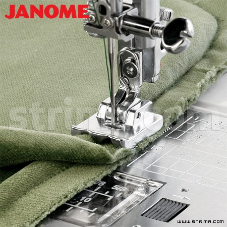 202088004 JANOME - Piping foot (for machines with 9 mm stitch width)