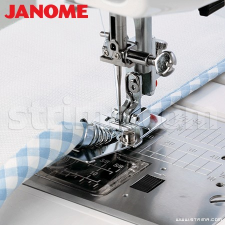 202099008 JANOME - Binder foot (for machines with horizontal rotary hook)