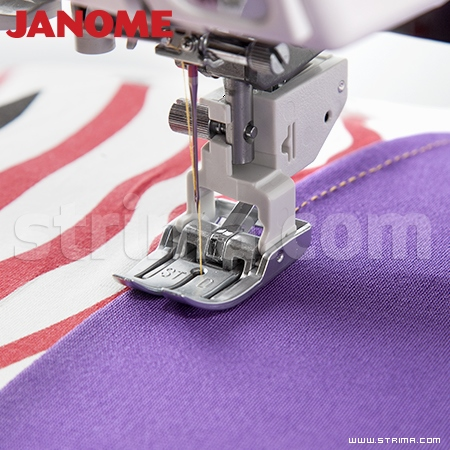 202102005 JANOME - Upper feed foot shoe (for machines with 9 mm stitch width)