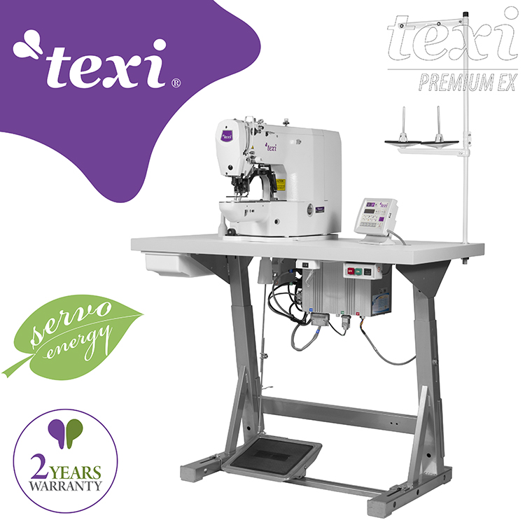Electronic bartacking machine - complete machine with 2 years warranty