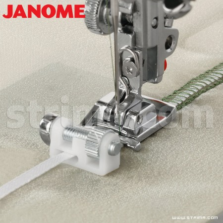 202090009 JANOME - Sequin foot (for machines with 9 mm stitch width)