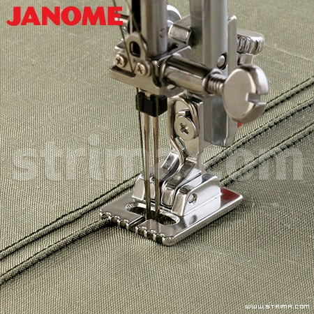 202093002 JANOME - Cord and piping sewing foot (for machines with 9 mm stitch width)