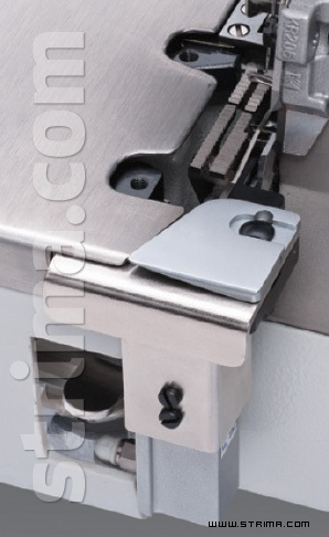 Back latching device for overlock Q series
