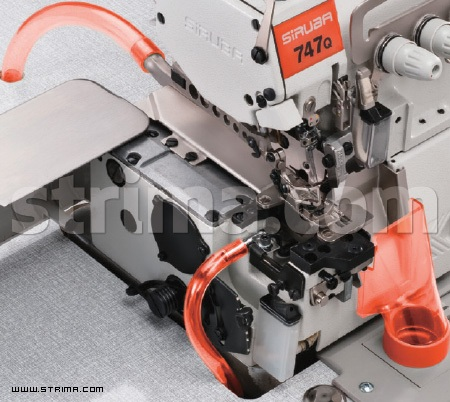 Dust collecting suction device (mechanical type) for overlock Q series
