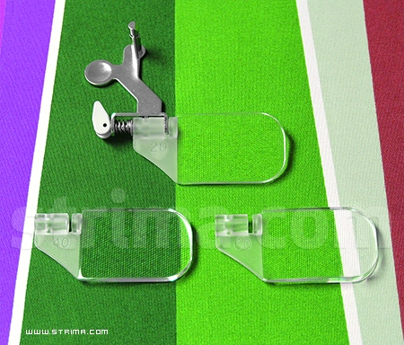 202130002 JANOME - Optic magnifiers, 3 pcs for Janome MC8200QC, MC8900QCP, MC9900