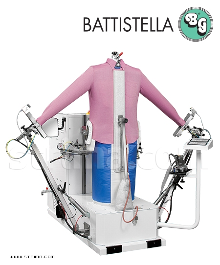 BATTISTELLA PEGASO/A - Steaming dummy with steam generator for shirts, jackets, coats