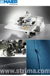 MAIER blind stitch machine with energy-saving AC Servo TP550 motor - complete sewing machine - 221-18/1 SERVO SET