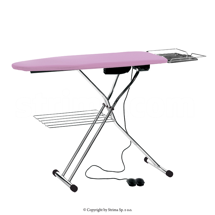 TEXI CHAMPION SB - Ironing table board type 120x45cm, with suction, blowing and heated surface