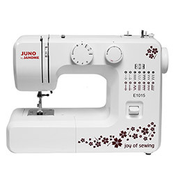 Multifunctional sewing machine - JANOME JUNO E1015