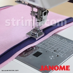Invisible zipper foot (for machines with 9 mm stitch width) - 202144009 JANOME