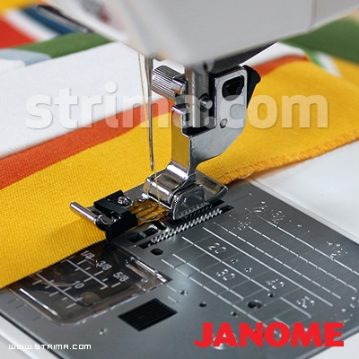 859810007 JANOME - Foot for overlock stitch (for machines with 9 mm stitch width)