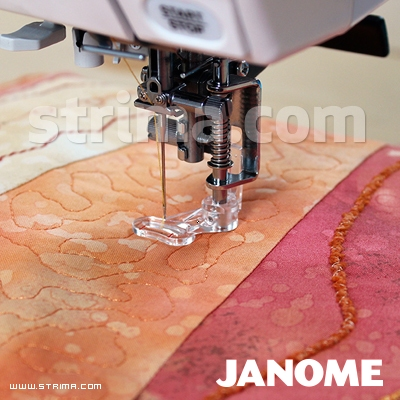 859839002 JANOME - Quilting foot (for machines with 9 mm stitch width)