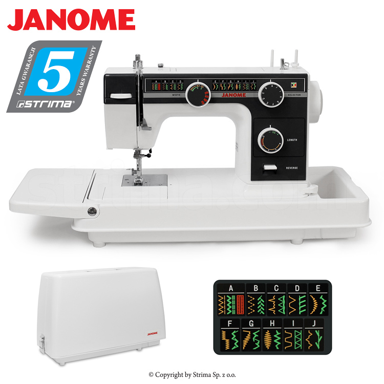 Multifunctional Sewing Machine With Suitcase JANOME 40 OLD SCHOOL Impressive Janome Sewing Machine