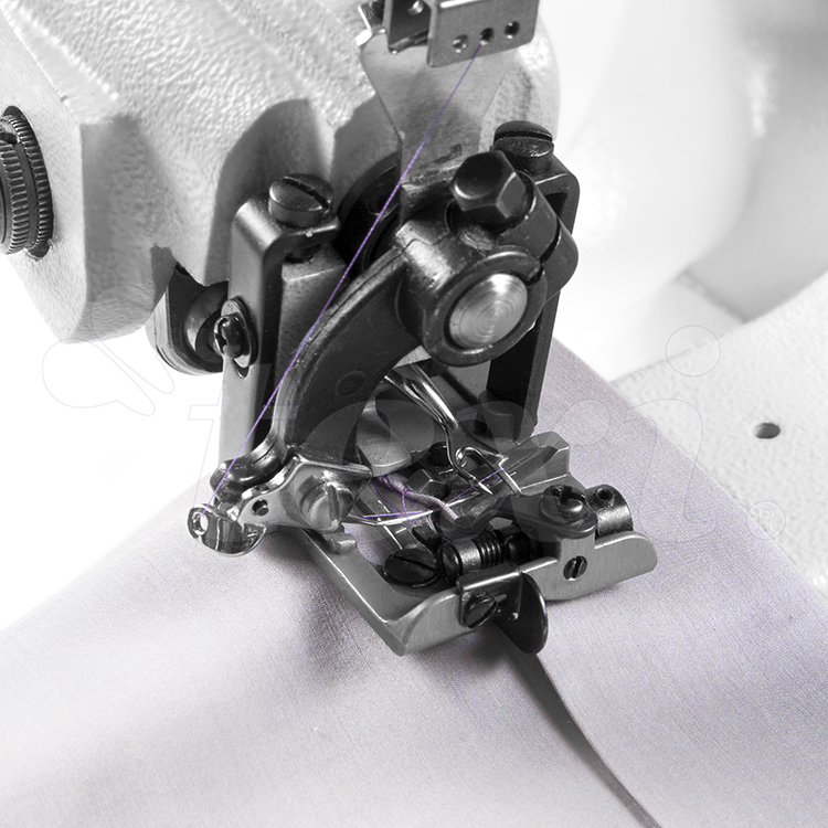 TEXI ACCURA PREMIUM EX - Blind stitch machine for light and medium materials, with AC Servo motor and needle positioning - complete sewing machine with 2 years warranty