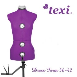 Dress form, adjustable size 36-42 - TEXI DRESS FORM 36-42