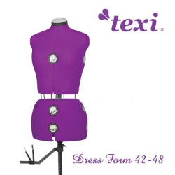 Dress form, adjustable size 42-48 - TEXI DRESS FORM 42-48