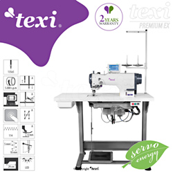 Electronic zigzag - complete sewing machine with 2 years warranty - TEXI ZIGGY PREMIUM EX