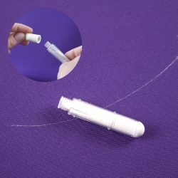 Tailor chalk - refill for pen with applicator, white color