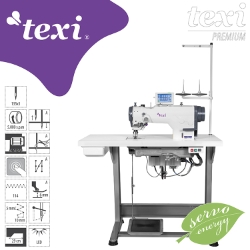 Electronic zigzag - complete sewing machine - TEXI ZIGGY PREMIUM
