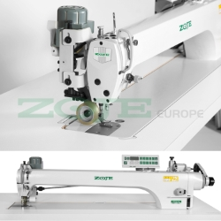 Automatic long arm lockstitch machine with puller - machine head