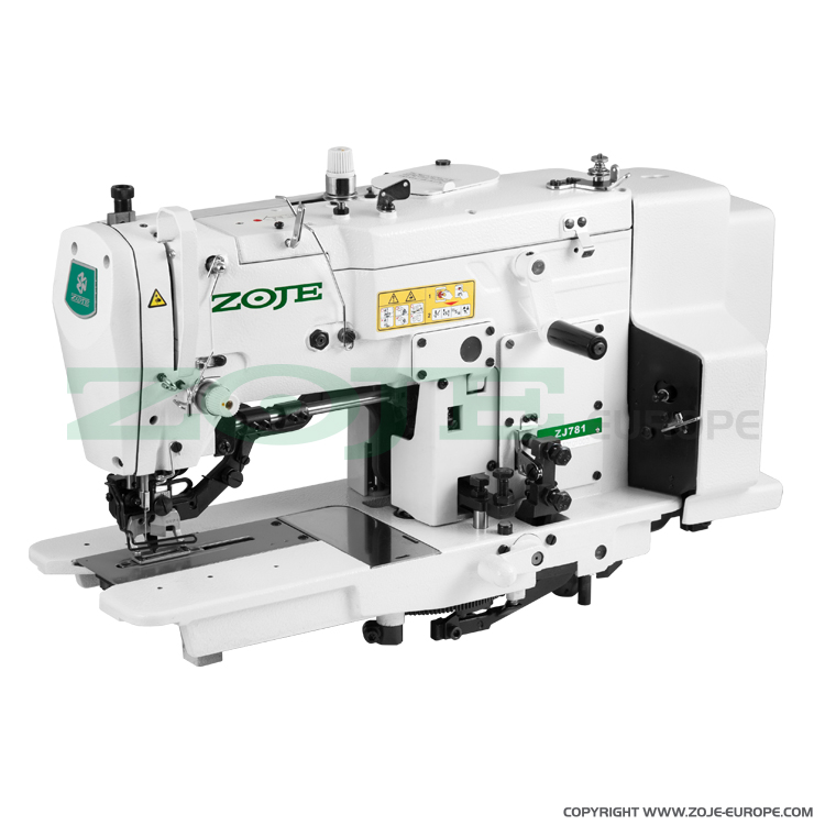 Buttonhole machine - sewing machine head
