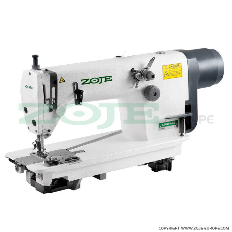 Chainstitch machine with built-in AC Servo motor and needle positioning - complete machine - ZOJE ZJ4810-BD SET