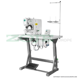 Electronic bartacking machine for heavy materials - complete sewing machine