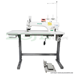 Automatic long arm lockstitch machine with puller - complete sewing machine