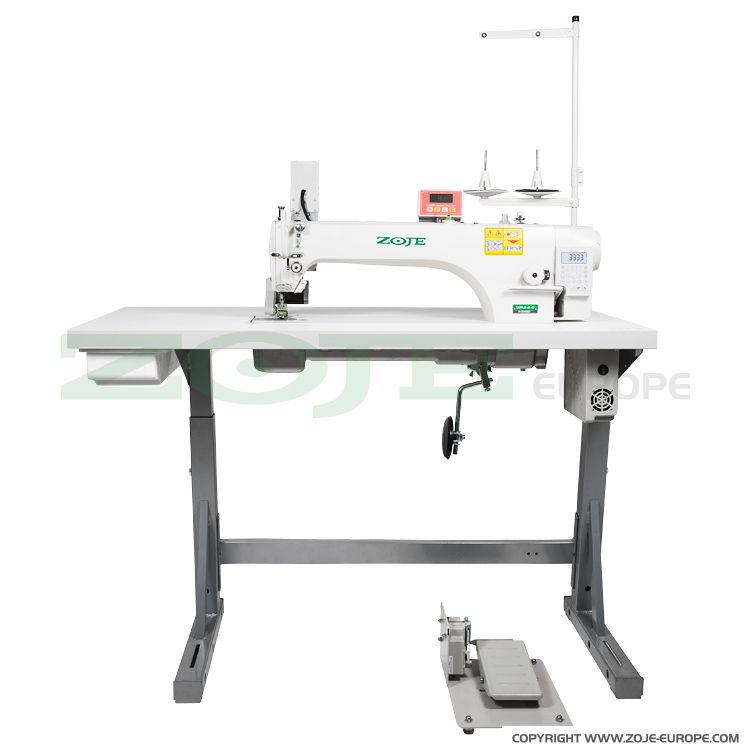 ZOJE ZJ9701LAR-D3-460/PF SET - Automatic long arm lockstitch machine with puller - complete sewing machine