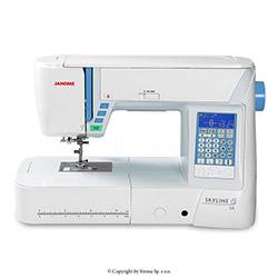 Multifunctional sewing machine, 496 programs