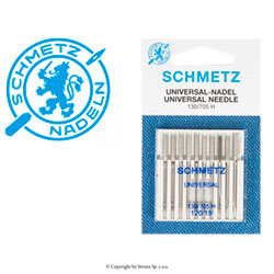 SCHMETZ universal needles 130/705H, 10pcs. 10x120