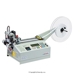 Automatic tape cutting machine, hot knife