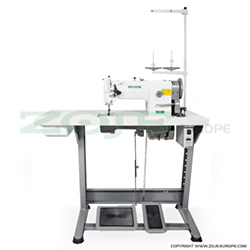Lockstitch machine for upholstery and leather, unison feed with ZOJE Servo motor  - complete machine - ZOJE ZJ0628 SET