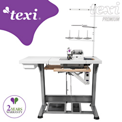 3-threads overlock machine with built-in AC Servo motor - complete sewing machine with 2 years warranty