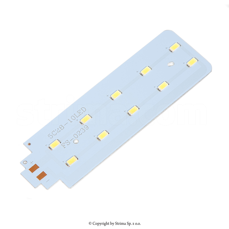 10LED PCB - LED strip (10 LED, 5W) for HM-99T LED, HM-99TS LED