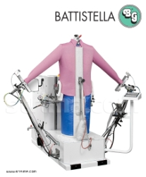 Steaming dummy for shirts, jackets, coats - BATTISTELLA PEGASO/V